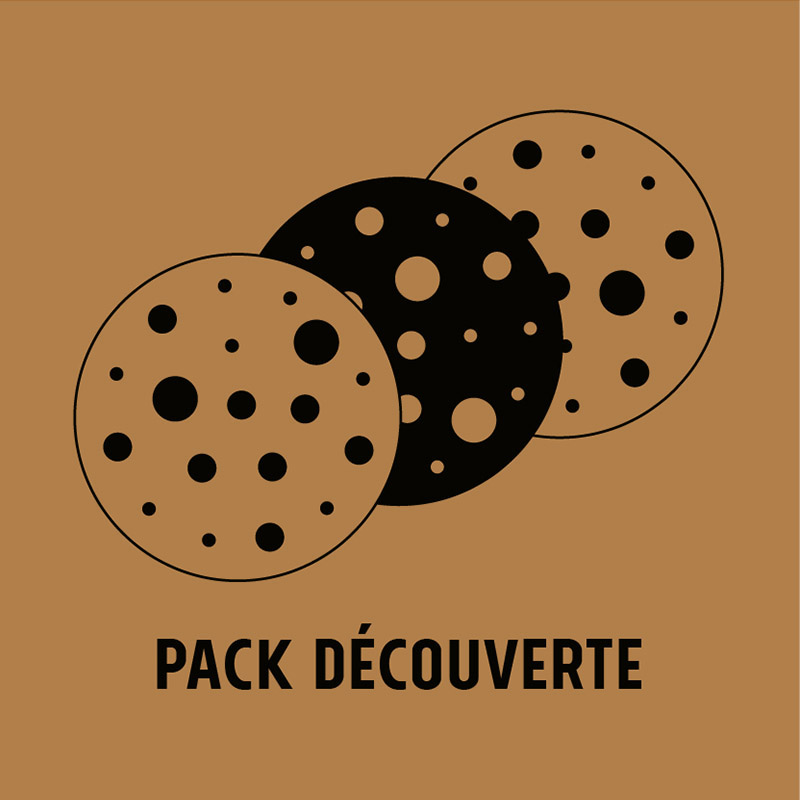 Pack découverte - 6 cookies