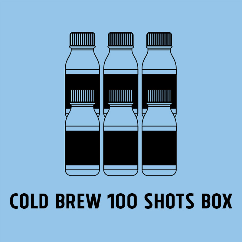 Cold Brew 100 shots Box
