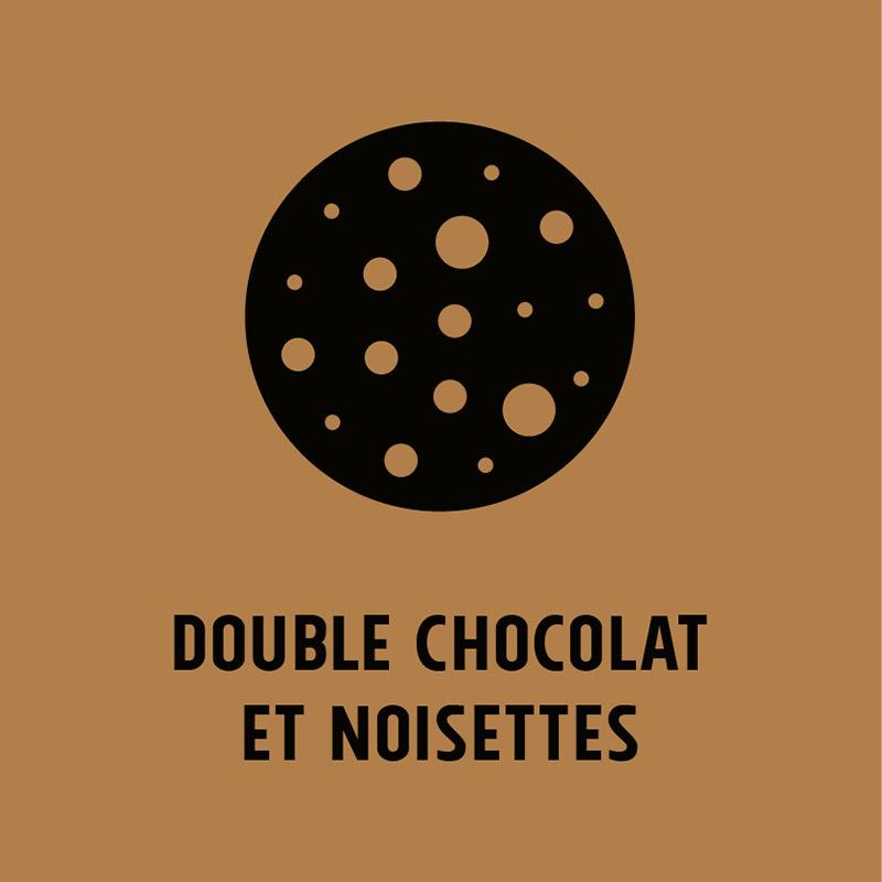 Cookie Double Chocolat et Noisettes