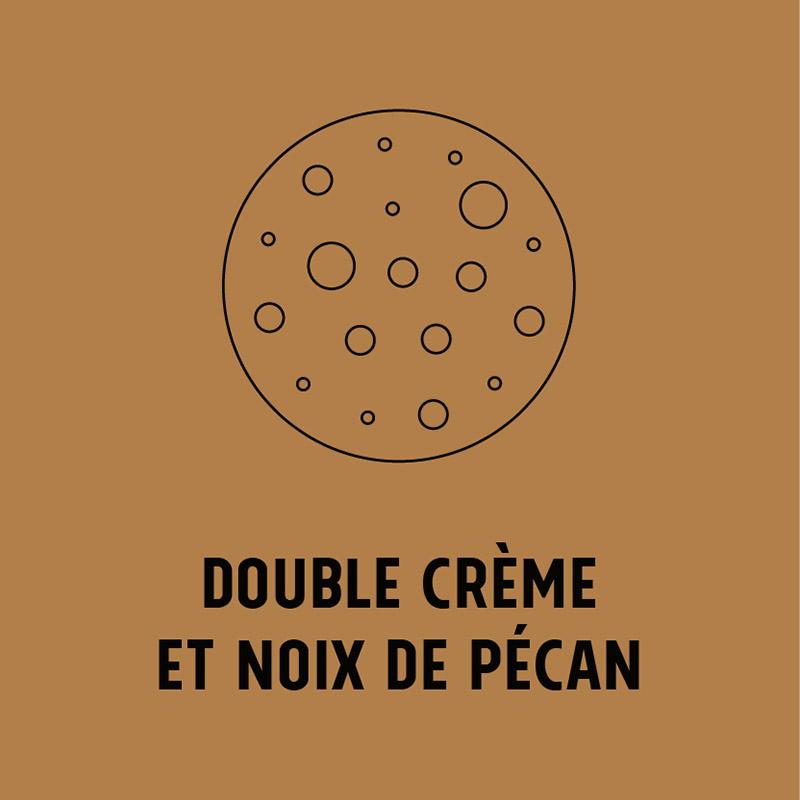 Cookie Double crème de la Gruyère et noix de pécan